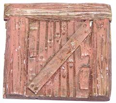 2x Small wooden doors