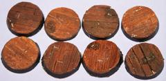 12x wooden Plank floor 25mm bases.
