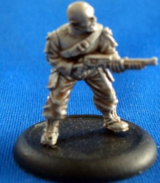 Trooper medic with shotgun