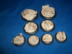 3x Swampland 50mm base inserts