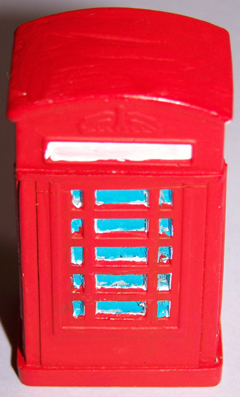 2x Telephone boxes