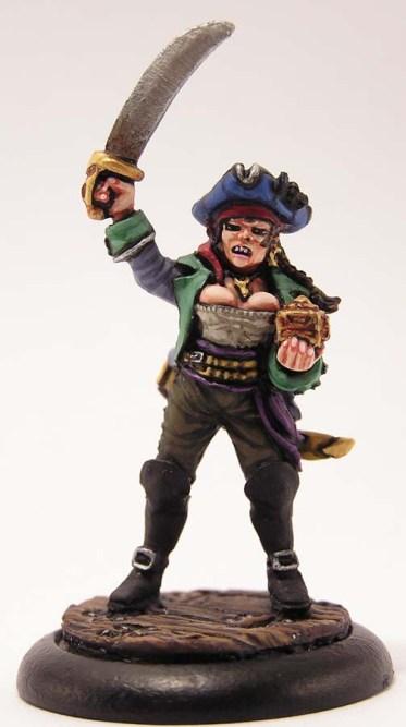 Female Pirate Captain