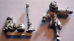 Set of Halloween figures