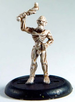 1 zombie (anatomically correct!)