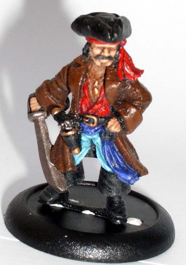 Pirate Captain with big sword
