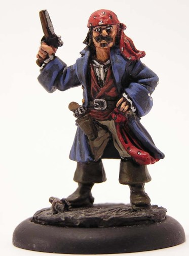 Pirate First Mate with gun.