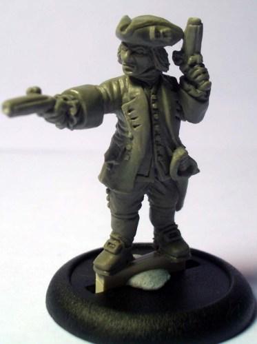 Royal Navy Leiutenant 2 pistols