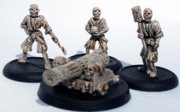 Skeleton cannon and 3 crew