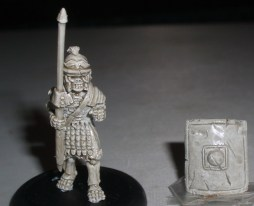5x Skeleton Roman Legionaries with Pilum & shield
