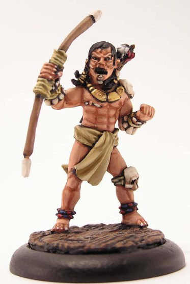 Tribal Warrior with a bow