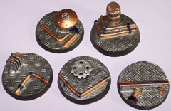 5x Technical Range 40mm bases.