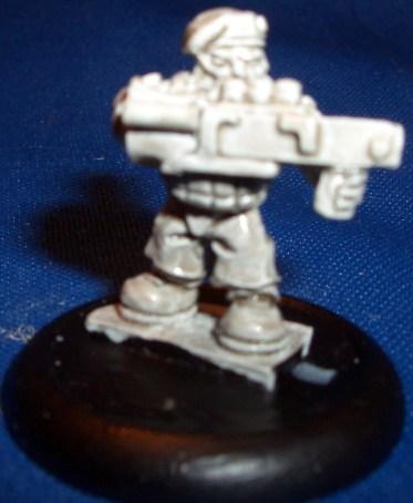 Space Dwarf Trooper 5 (B'Dass)