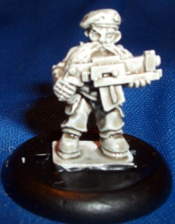 Space Dwarf trooper 8 (B'Dass)