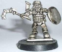Space Dwarf Mercenary (B'Dass)