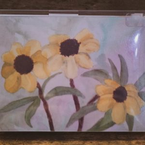 8-Wildflower-Folded-Greeting-Cards-Front-8-per-box-Black-Cat-Gallery-Owego