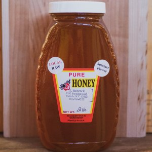 Local-Raw-Pure-Honey-2-Pound-Light-Summer-Flower-Black-Cat-Gallery-Owego