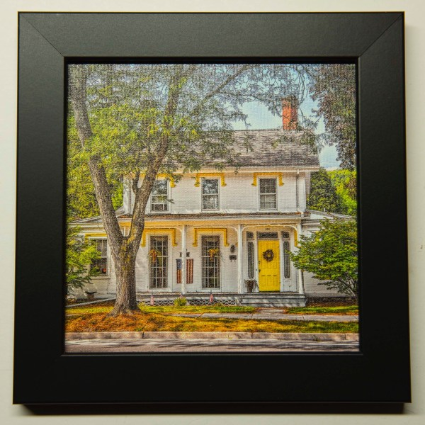 Oldest-Standing-Home-in-Owego-Photo-on-Canvas-Black-Cat-Gallery-Oweg