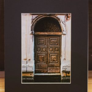 Venice-Doorway-Photography-Matted-Black-Cat-Gallery-Owego