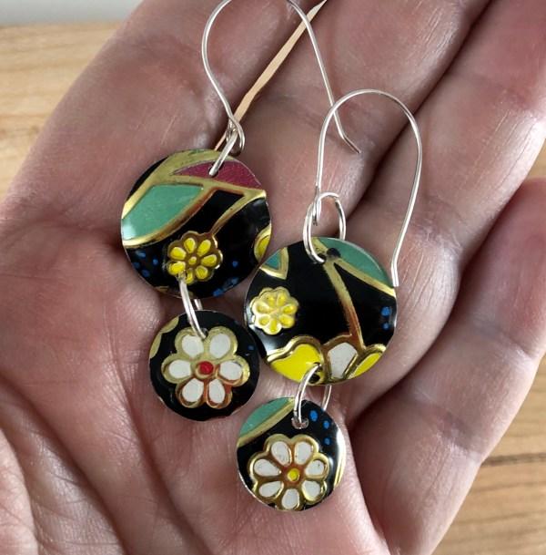 earrings tin sterling