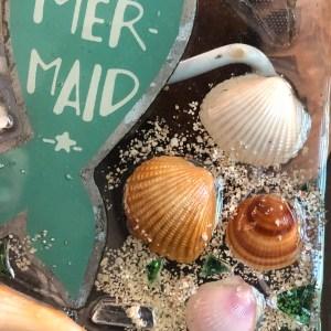 beach shells mermaid
