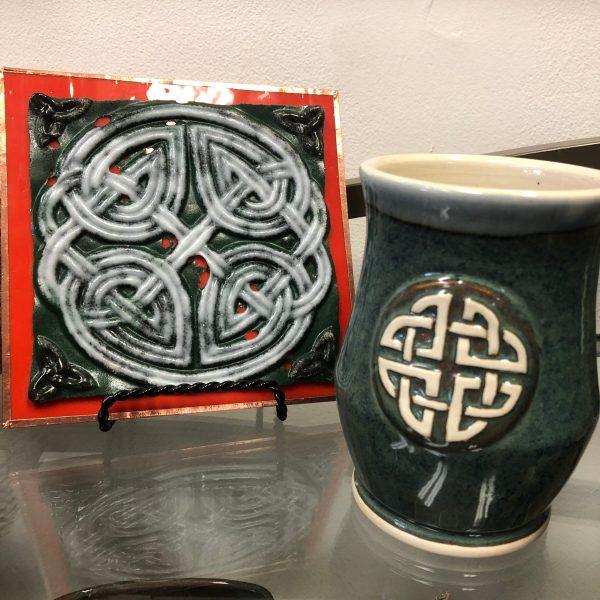 Irish Gaelic design tile