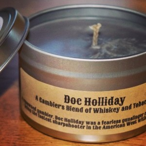 Doc Holliday candle