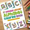 Coloring Book Doodle Art Alphabet