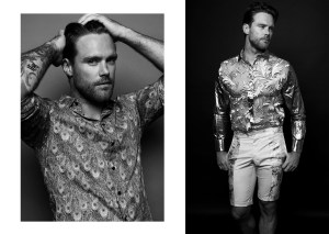 Nick Youngquest - Shirt - Joshua Christensen Shorts - Anthony Franco