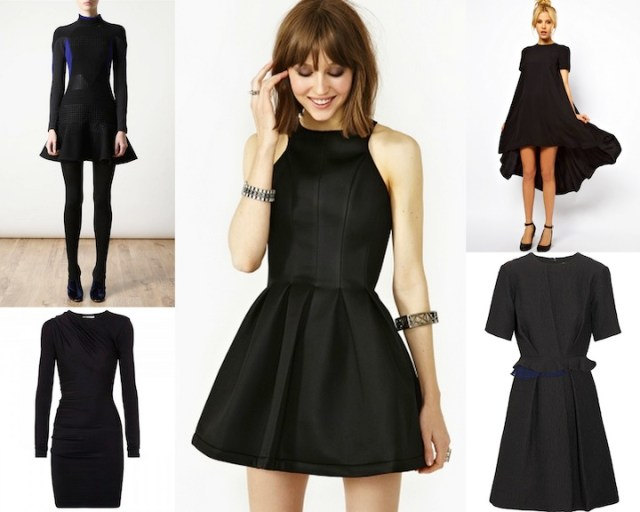 The Little Black Dress - Everyone's Favorite / Black Chalk Magazine
