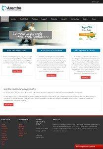 Azamba.com Home Page