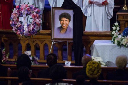 Funeral of Gwen Ifill at Metropolitan A.M.E. church in Washington D.C. (Nov 19, 2016)