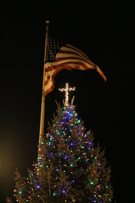 PHOTO CREDIT: Knightstown CHRISTmas Tree