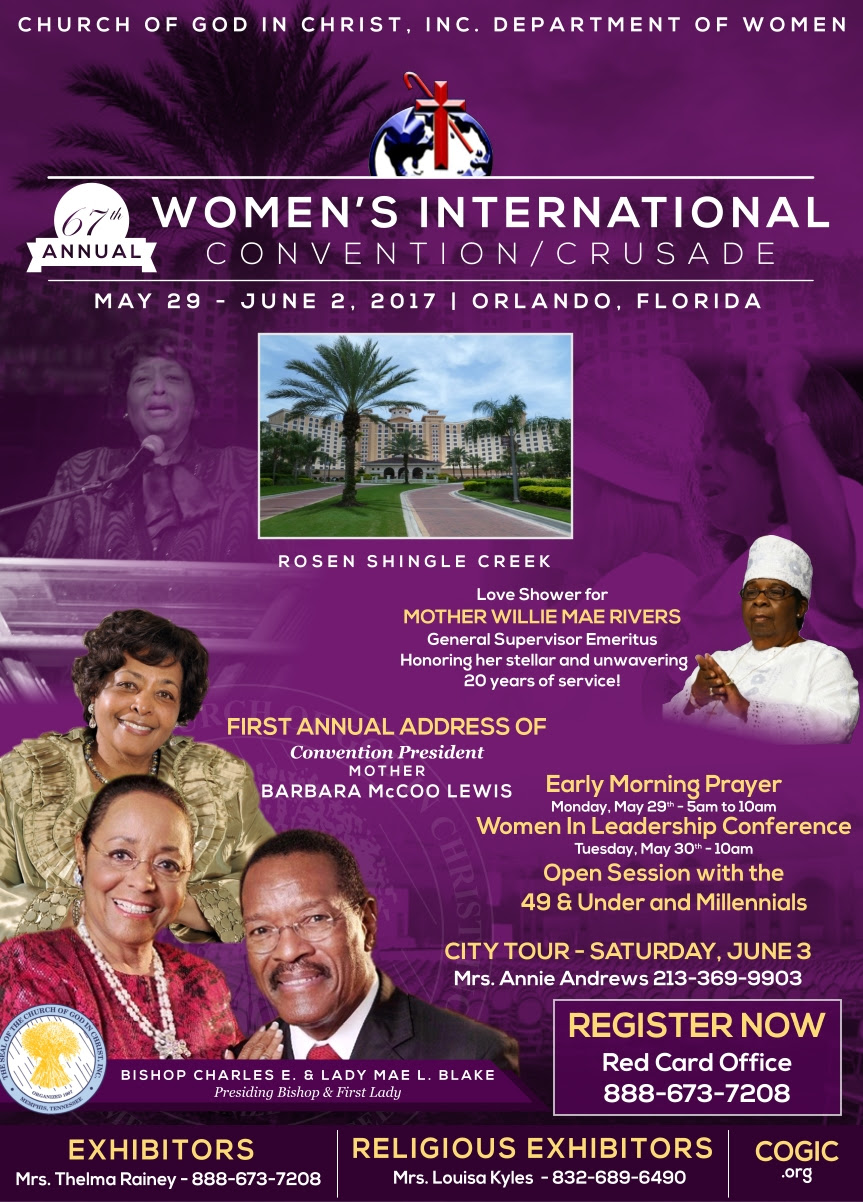 cogic 2014 convention schedule