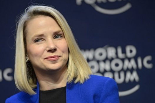 Yahoo chief executive Marissa Mayer. (Laurent Gillieron/European Pressphoto Agency)