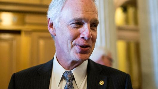 Sen. Ron Johnson, R-Wis. (Bill Clark | CQ Roll Call | Getty Images)
