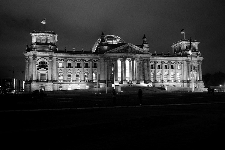 The historic German Reichstag, once home to the Imperial Diet. (Astrid Riecken/For The Washington Post)