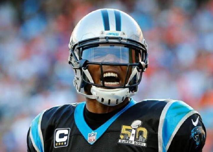Panthers quarterback Cam Newton named MVP at NFL Honors Feb 7, 2016. (PHOTO: REUTERS/MIKE BLAKE)