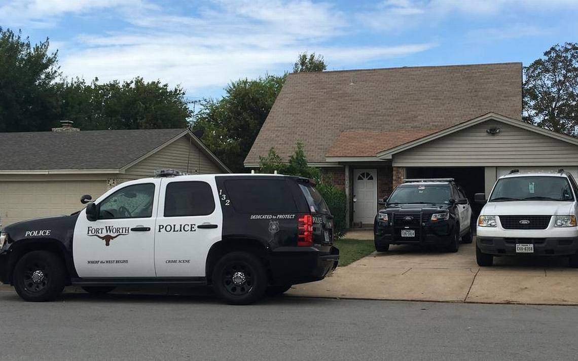 The Fort Worth Police Department found a body inside a vacant home in the 6400 block of Woodway Drive in southwest Fort Worth. Police said they received a tip about the body at the location from the Arlington Police Department.