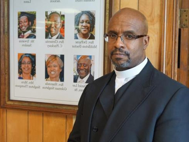 The Rev. Eric Manning, pastor of Mother Emanuel African Methodist Episcopal Church in Charleston, S.C.