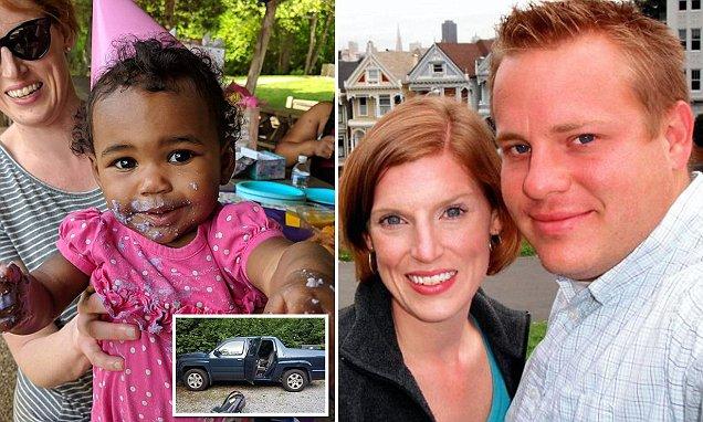 Katera Barker and her adoptive parents Matt & Jenny (Twitter / @tariqnasheed)