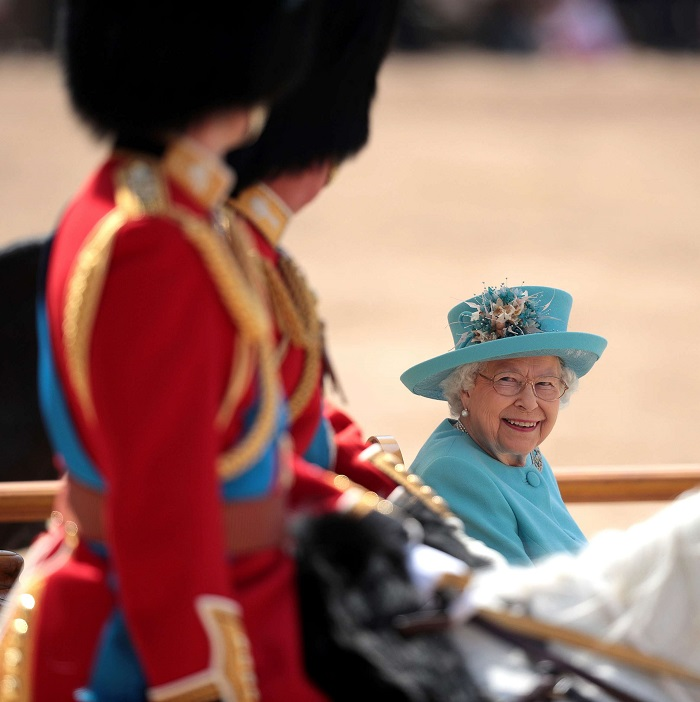 Queen Elizabeth Celebrates 92nd Birthday At Trooping The