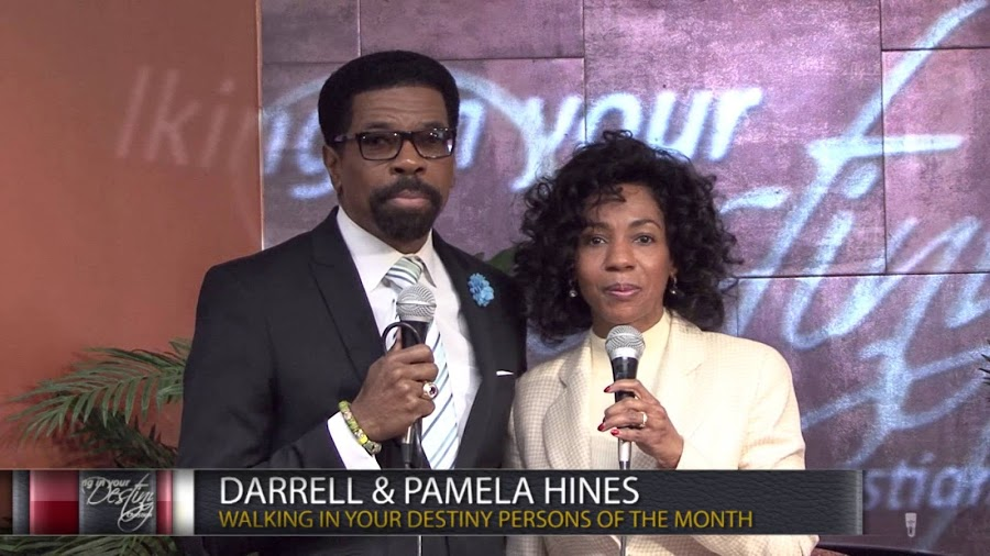 Darrell Hines and wife Pamela