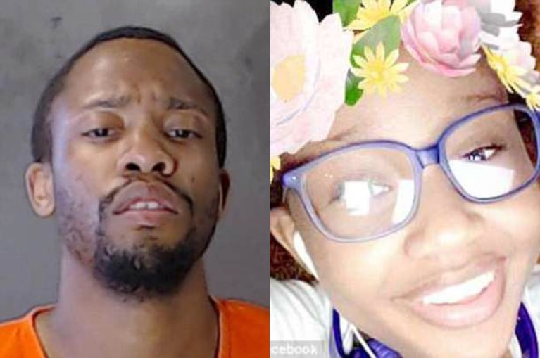 Killed over a bathroom: Gavin Henderson, 27 (left), is accused of fatally stabbing his 15-year-old sister Keaira (right) for taking too long in the bathroom last month.