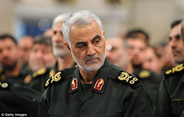 Iranian Quds Forces commander Major General Qassem Soleimani warned Trump in a speech that a war with Iran would 'destroy everything you own'.