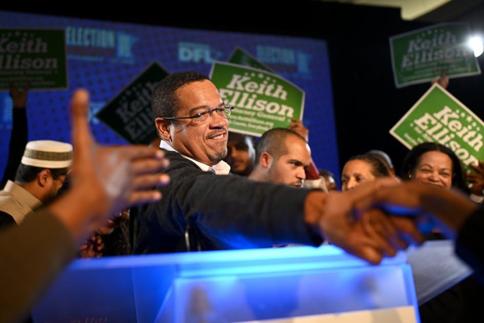 Keith Ellison won the Attorney General seat over Doug Wardlow