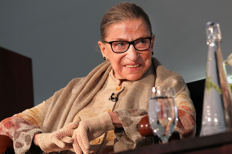 Justice Ruth Ginsburg (Joanne Rathe | The Boston Globe | Getty Images)