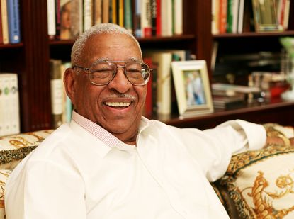 William Thompson, Brooklyn's first African-American state senator and a former state Supreme Court justice, passed away on Christmas Eve. He was 94. (James Monroe Adams IV for New York Daily News)