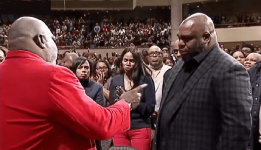 T D  Jakes Rebukes the Spirit of Suicide From John Gray