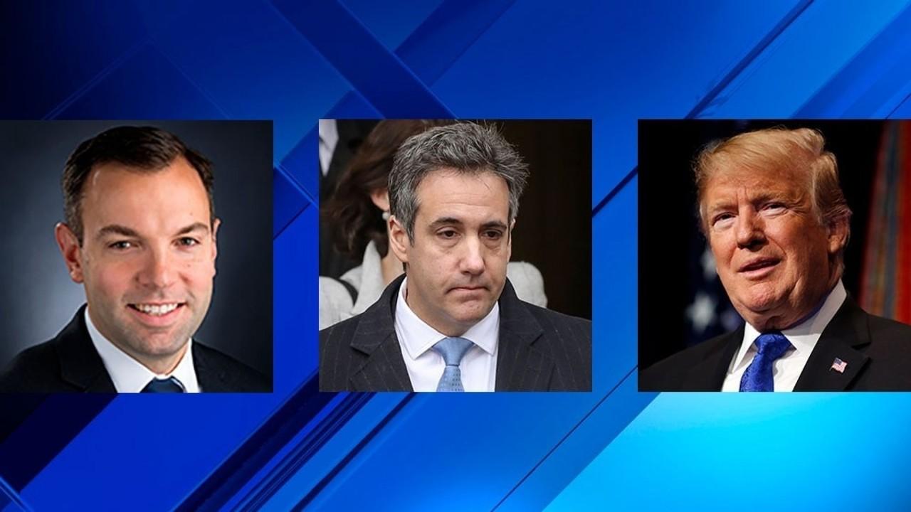 John Gauger, Michael Cohen, Donald Trump