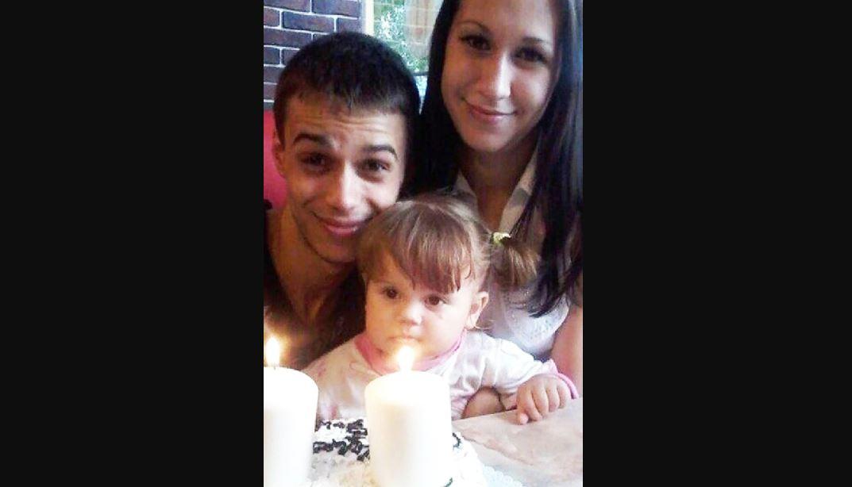 Yaroslav Oleinikov, Anna Zubko and their daughter, Veronika (Picture: Rostov.ru, Supplied)
